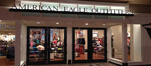 American Eagle Outfitters, FlatIron Crossing Mall