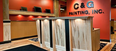 C & G Painting, Inc., Downtown Office