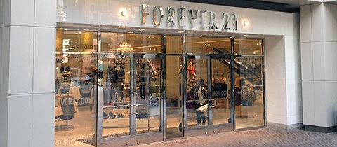 Forever 21, 16th Street Mall