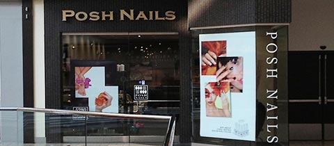 Posh Nails, Cherry Creek Mall