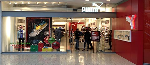 Puma, Cherry Creek Mall
